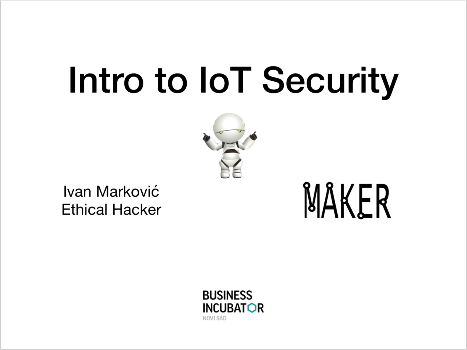 Introduction to Internet of Things Security, Laboratory